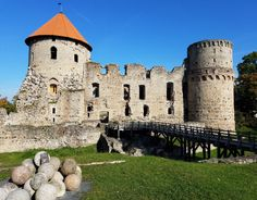 Exploring the Cesis Medieval Castle ruins known as one of the most impressive gives you a real senseof life in the 13th Century in Latvia.