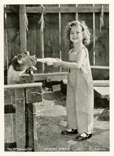 The Shirley Temple Archive — Shirley Temple, 1935.