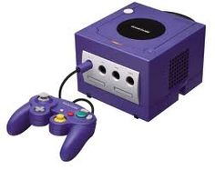 Playing the  old GameCube, who remembers?