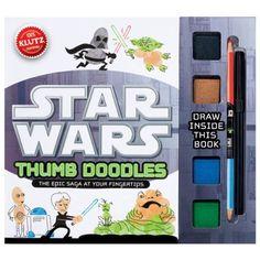 Star Wars Thumb Doodles, 2013 Parents' Choice Award Funstuff #Toy