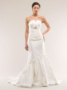 Popular Kirstie Kelly Wedding Dress Silk Dupioni wedding bridal gown