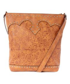 Tan Floral Crossbody Bag #funkycasual