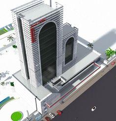 Grand hotel A. a bamako au Mali...architecture d afrique