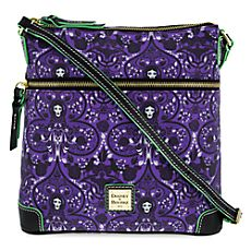 Crossbody - Haunted Mansion - Madame Leota - Purple Pattern - Disney Dooney & Bourke