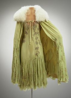 Fripperies and Fobs — Evening ensemble, 1923 From the Hillwood Museum