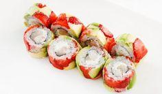 Sladkú dobrotu s ovocím urobíte podľa VIDEOnávodu Caprese Salad, Ethnic Recipes, Food, Fruit Sushi, Delicious Food, Pastries, Eating Clean, Meals, Seafood