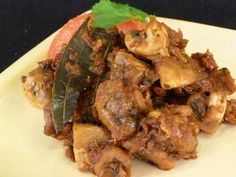 How to make Masala Mushrooms Indian Recipe
