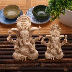 Ganesha Buddha Sculpture
