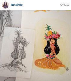 LianaHee via Instagram Pineapple Princess