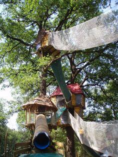 Le Bois des Lutins, Villeneuve Loubet, French Riviera, France. Amusement park.