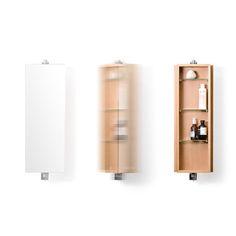 Wireworks - Domain Revolve Mirrored Cabinet - Oak - Small