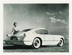1954 Chevrolet Corvair fastback coupe Corvette