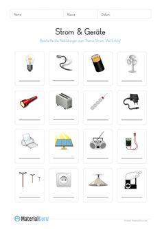 arbeitsblatt stromverbrauch in der grundschule kostenlose arbeitsbl tter sachkunde. Black Bedroom Furniture Sets. Home Design Ideas