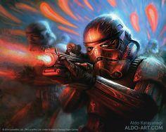 Star Wars Stormtroopers by AldoK.deviantart.com on @DeviantArt