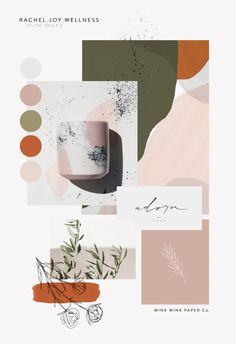 Branding Mood Board by Wink Wink Paper Co. boards layout Branding Mood Board by Wink Wink Paper Co. Coperate Design, Deco Design, Layout Design, Blog Design, Brand Design, Interior Design, Ecommerce Webdesign, Webdesign Layouts, Corporate Identity Design