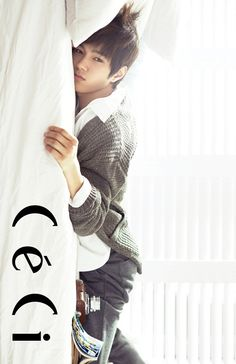 L (MyungSoo)  #INFINITE #KPOP - Ceci Magazine November Issue 13 Come visit kpopcity.net for the largest discount fashion store in the world!!