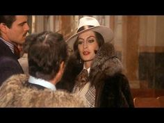 "Capucine in mink fur coat with a fox collar in ""Bluff storia di truffe e di imbroglioni"" (1976)"
