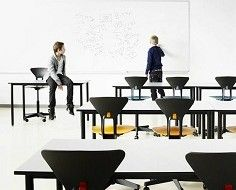 Ergonomic Chair For School Kids Encourages Good Posture