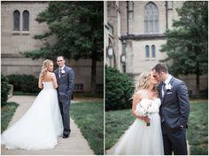 Wedding Portraits of Bride & Groom -Cory + Jackie Wedding Photographers