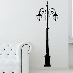 Lamp Post Wall Sticker