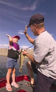 Teaching a kid to fish creates a special bond. Create memories that last forever.