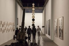 Allestimento della 56. Esposizione Internazionale d'Arte, accrochage delle opere esposte e realizzazione di pareti e opere in cartongesso http://tosettoallestimenti.com/biennale-arte-2015-venezia/