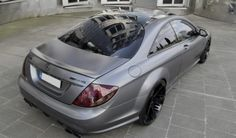 Mercedes-Benz CL65 AMG Grey Stone Edition by #Anderson Germany #mbhess #mbcars #mbtuning
