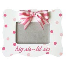 Phi Mu Big/Lil picture frame