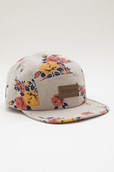 bdc2643641f4 MEADOWLARK 5 PANEL HAT by OBEY Obey Cap, Indie Clothing Brands, 5 Panel Hat