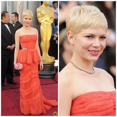 Michelle Williams- Oscars 2012- Louis Vuitton