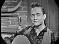 Johnny Cash - Big River - live on tv