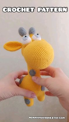 Amigurumi MUSTER Spielzeug Giraffe - Amigurumi Patterns by Shvetsova Olga - Amigurumi , Crochet , Knitting Crochet Amigurumi Free Patterns, Crochet Patterns For Beginners, Easy Crochet Patterns, Crochet Rabbit Free Pattern, Crochet Lion, Knit Crochet, Crochet Simple, Crochet Instructions, Stuffed Toys Patterns