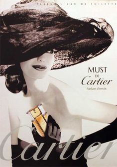 parfum de cartier - This is the other perfume I wear if I am not wearing Eternity: it is called MUST by Cartier.  It's a classic. and very soft, just like Eternity. If my husband smells either perfumes, he knows I am around.  He says makes him happy (I hope that is true forever!) -Mari