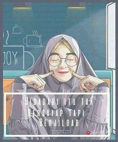 510 Gambar Kartun Muslimah Hijab Terbaru Terbaik