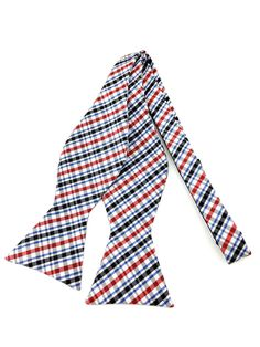 Tri-Colour Pattern Checks Self Tied Bowtie Ties Online, Formal Tie, Colour Pattern, Bowties, Wedding Men, Aqua Blue, Black Stripes, Groomsmen, Printmaking