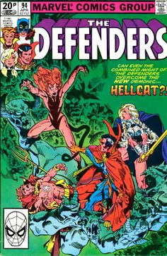 The Defenders cover by Michael Golden.