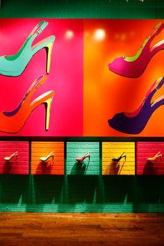 Color Wheel Heels | Cole Haan | New York WindowsWear