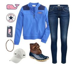"""Contest read d"" by cammie0825 ❤ liked on Polyvore featuring Sperry, Vineyard Vines and tristinsvineyard"