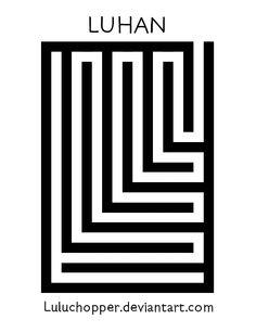EXO Overdose - Luhan's Logo