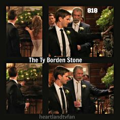 The Ty Borden stone. Right next to Amy's