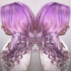 Top Post of the Day! Smoky Orchid Curls by Tiffany VanEeckhoute #hotonbeauty instagram.com/hotonbeauty