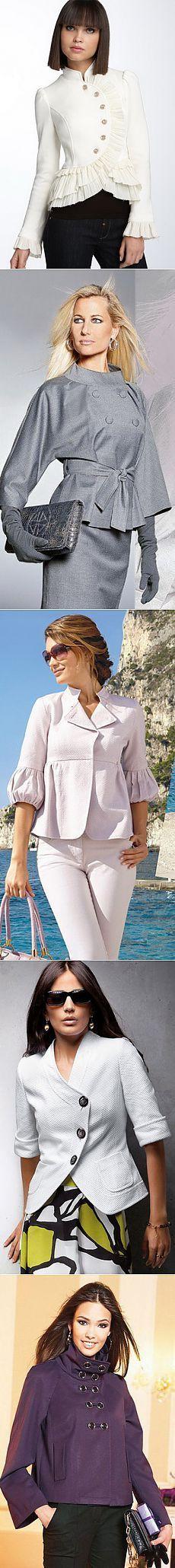Жакет – новая классика - + 100 красивых моделей
