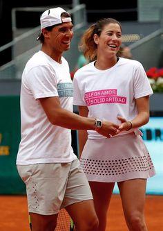 Nadal & Muguruza Spanish number 1 tennis