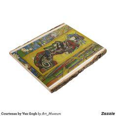 Courtesan by Van Gogh Wood Panel Van Gogh Prints, Inspirational Text, Vintage Wood, Wood Paneling, Wood Wall Art, Wood Print, Rugs, Artwork, Pictures