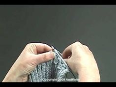 how to knit smocking