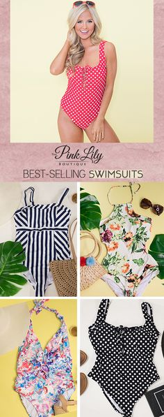 Don't miss out on the latest trends in swimwear this summer with Pink Lily's boutique swim collection! It includes stunning two-piece sets, one-pieces showstoppers, and everything in between. Gorgeous designs, enviable colors, and eye-catching patterns are what you'll find in our online swim collection.