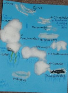 Lots of activities and experiments about clouds and precipitation.  Includes making a rain gauge and a cloud in a bottle.