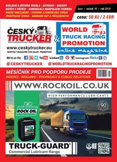 ČESKÝ TRUCKER - magazine for sales promotion of trucks and commercial vehicles - buses - deliveries - trailers and semi-trailers - communal and handling equipment - containers carriers - construction and agricultural machines - industrial machines - . Mobile Marketing, Internet Marketing, Online Marketing, Social Media Marketing, Digital Marketing, Mercedes Benz Trucks, Volvo Trucks, Semi Trucks, Automobile