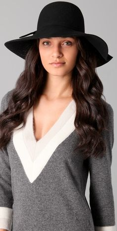 This hat says, here is a confident woman.