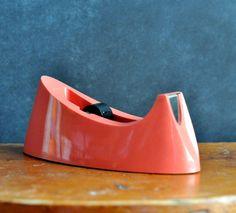 Vintage Pink Tape Dispenser!  <3